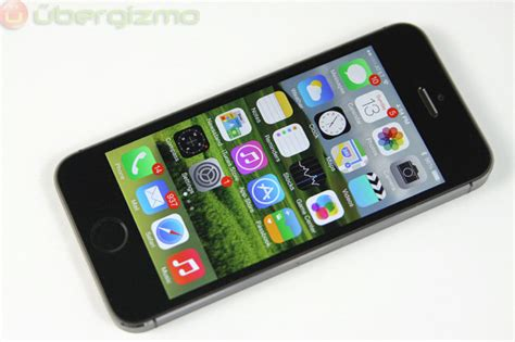 how to on iphone 5s test de l iphone 5s ubergizmo