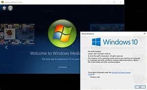Windows Media Center for Windows 10 Anniversary Update