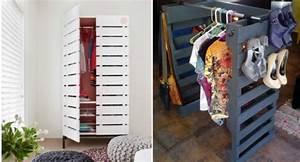 Dressing En Palette : que faire avec des palettes plus de 38 cr ations originales ~ Melissatoandfro.com Idées de Décoration