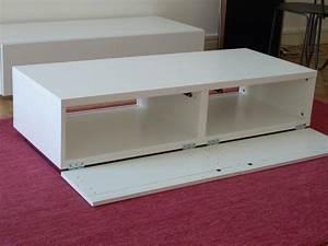 Meuble Salle De Bain Peu Profond : meuble tv pur et design diy ~ Edinachiropracticcenter.com Idées de Décoration