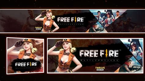 Our free online youtube banner maker helps you easily create custom youtube cover photos for all sizes in minutes, no design skills needed. Banner + Capa de Facebook Garena Free Fire [TWELLVE DESIGN ...