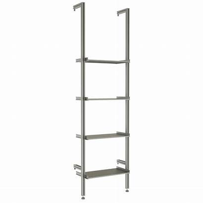 Retail Shelving Modernshelving Ladder Mounted Shelf