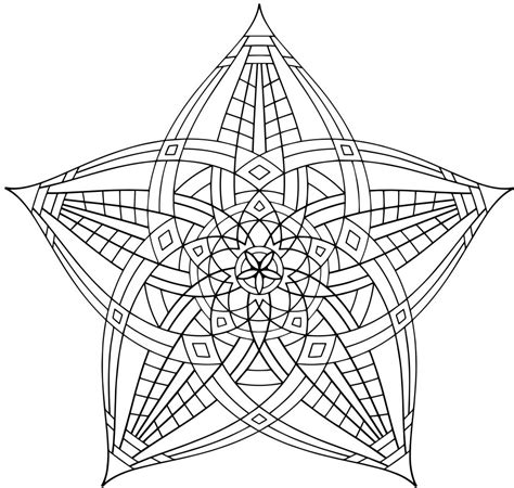 geometric coloring pages coloringpages
