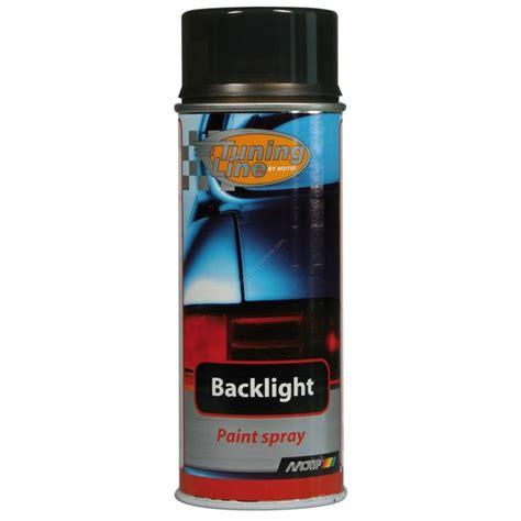 bombe de peinture voiture bombe de peinture noir pour feux arri 232 res motip m00260 400