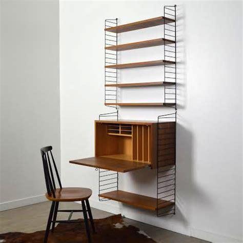 etageres bureau système d étagères bureau string par nisse strinning