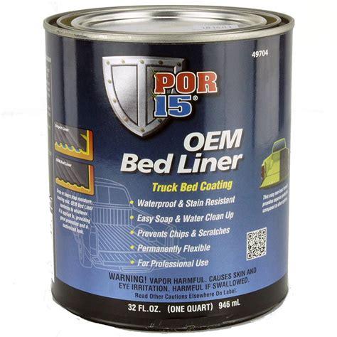 Por 15 Bed Liner Coating 1 Us Quart  Car Builder