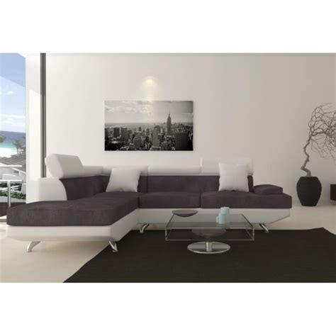 canape blanc pas cher photos canapé d 39 angle gris et blanc pas cher