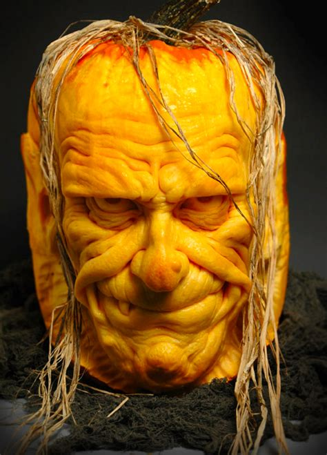awesome carved pumpkin amazing pumpkin carvings by ray villafane sneakhype