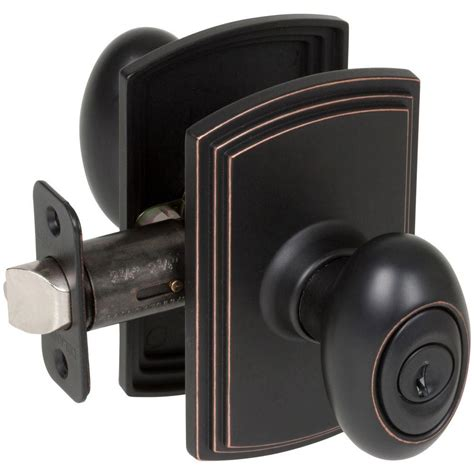 exterior door knobs delaney italian collection canova edged rubbed bronze
