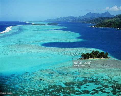 French Polynesia Society Islands Raiatea Island Aerial