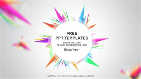 abstract triangle  templates