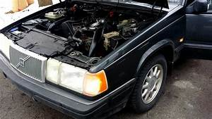 Volvo 940 Engine Swap  From 16 Valve To Turbo
