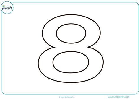 Números para Colorear (Dibujos listos para imprimir)