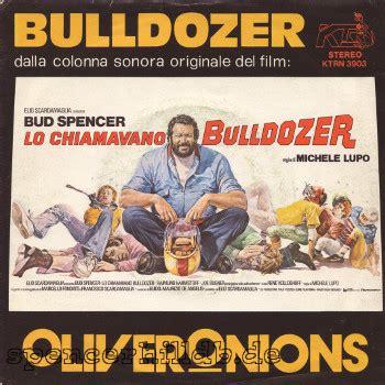 lp oliver onions lo chiamavano bulldozer bulldozer