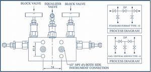 5 Way Manifold Valve  Coplanar Type