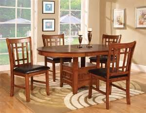 round dining room tables and chairs with leaves dining