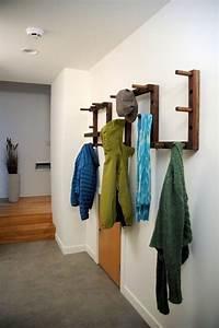 Wandgarderobe Selber Machen : 31 kreative ideen f r garderobe im flur zum selbermachen ~ Markanthonyermac.com Haus und Dekorationen