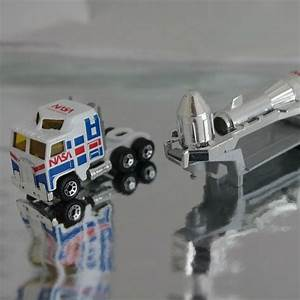 Rare Nasa Matchbox Toy - Lorry and Rocket Trailer 1981