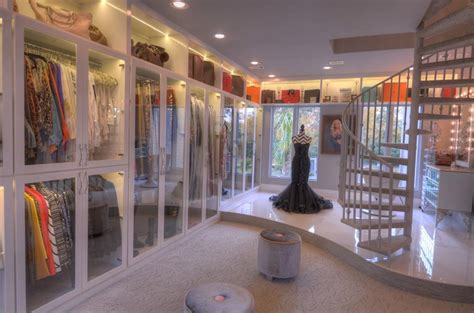 mansion master closet 12 9 million newly listed 17 000 square foot mansion in Modern