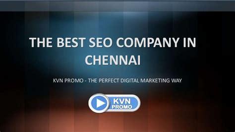 Best Seo Company by Kvn Promo The Best Seo Company In Chennai