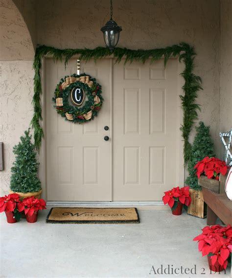 rustic christmas home   addicted  diy