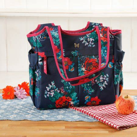 insulated lunch tote walmart the pioneer country garden lunch tote walmart com
