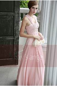 robe rosee tenue de soiree mays ange With robe rose pas cher
