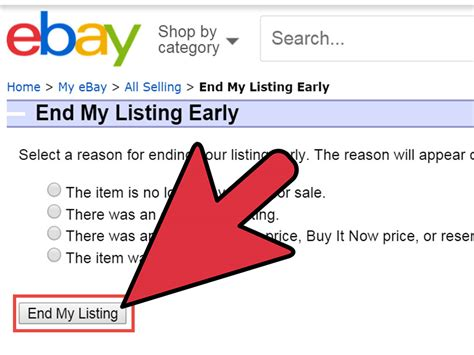 How To Remove An Item From Ebay