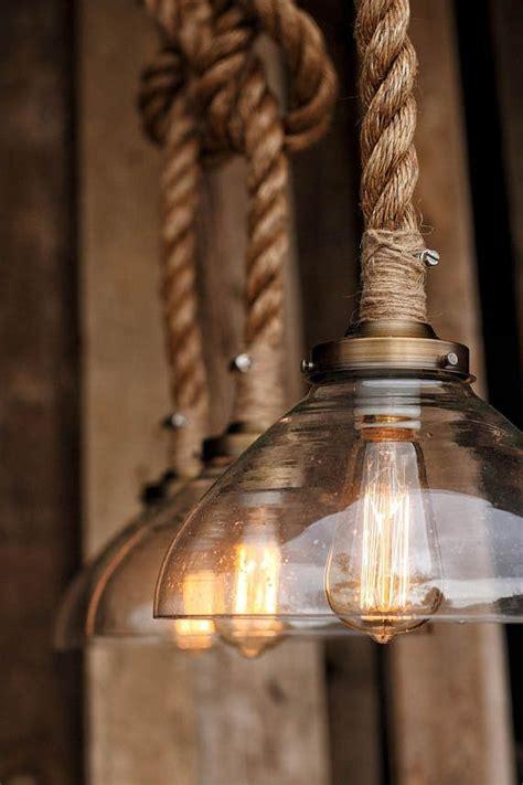 prestige pendant light industrial rope lighting