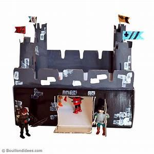 Bricolage Avec Objets De Récupération : bricolage enfant fabriquer un chateau fort en carton id es et conseils activit manuelle enfant ~ Nature-et-papiers.com Idées de Décoration