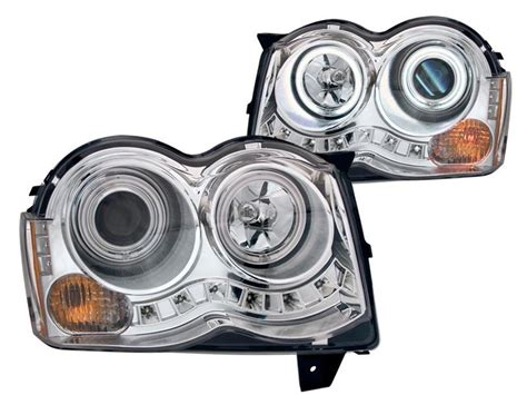 anzo usa 111232 projector halo headlights with clear