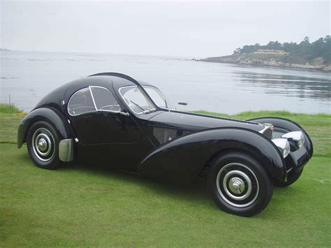 Types Of Bugatti Cars by Classic Car Posters Bugatti Type 57sc