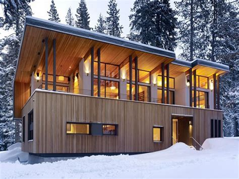 cabin plans modern mountain home plans modern cabins modern mountain home
