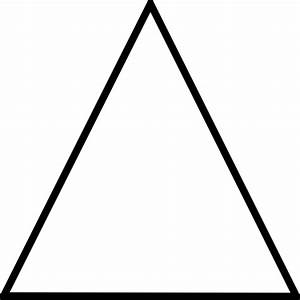 White Triangle Transparent Background - ClipArt Best
