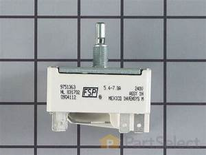 Whirlpool Wp9751363 - Burner Infinite Control Switch