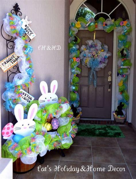 easter door decorations creative easter outdoor decoration ideas hative
