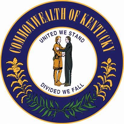 Kentucky Seal State Svg Commonwealth Ky