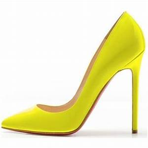 Image Gallery Neon Pumps