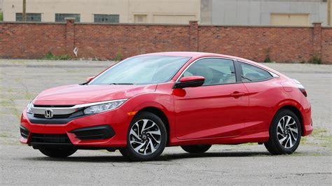 2016 Honda Civic Lx Coupe
