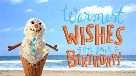 warmest wishes   birthday ecard hallmark ecards