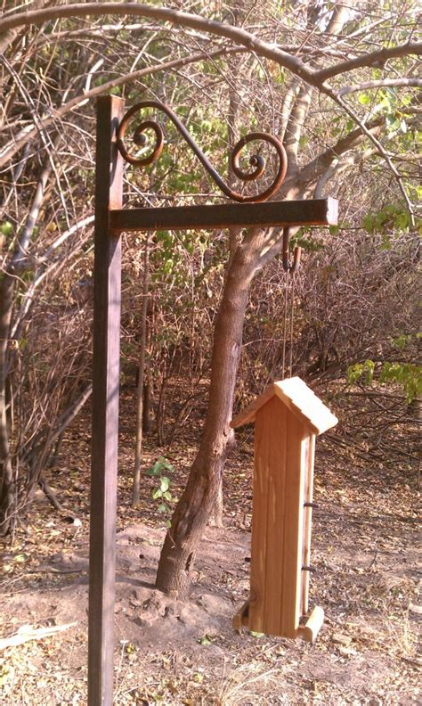 bird house feeder pole by rgranchcreations on etsy 99