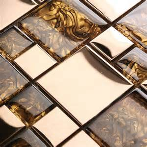 wholesale backsplash tile kitchen mosaic tiles wall deco mesh pattern glass stainless 1941 blend wholesale kitchen