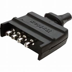 Britax 4 Pin Flat Plastic Trailer Plug