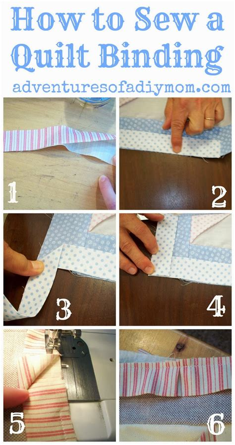 how to sew quilt binding how to sew a quilt binding adventures of a diy