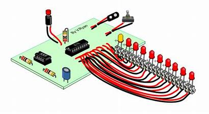 Counter Decade 4017b Technologystudent Circuit Pdf Integrated