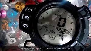 Speedometer Digital Ktc Yamaha X-ride A K A Ttx