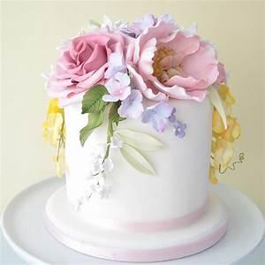 Geneva Homemade Flower Cake Petra Cakes