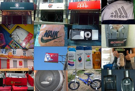 Fake Brands (weird News No 4)  These Are Some Of The