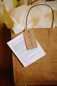 Welcome bags for out of town guests including a guide to for Wedding welcome gifts for out of town guests