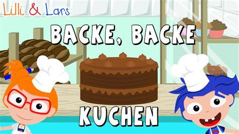 backe backe kuchen backer hat gerufen appetitlich foto